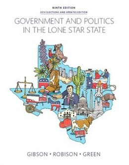 Book Government And Politics In The Lone Star State by L. Tucker Gibson