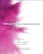 Impact: A Guide To Business Communication, Eighth Canadian Edition Plus Mybcommlab -- Access Card…
