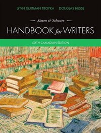 Simon & Schuster Handbook For Writers, Sixth Canadian Edition Plus Mywritinglab -- Access Card…