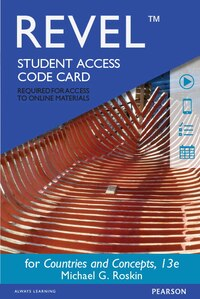 Revel For Countries And Concepts: Politics, Geography, Culture -- Access Card