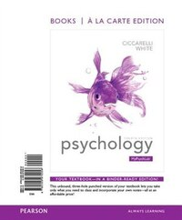 Psychology, Books A La Carte Edition & Revel -- Access Card Package