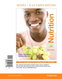 Book Nutrition For Life, Books A La Carte Edition by Janice J. Thompson