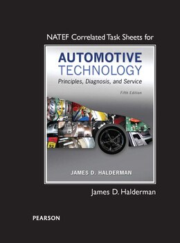 Book Natef Correlated Task Sheets For Automotive Technology by James D. Halderman