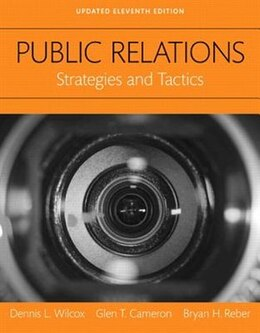 Book Public Relations: Strategies And Tactics, Books A La Carte by Dennis L. Wilcox