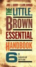 The Little, Brown Essential Handbook, Sixth Canadian Edition by Jane E. Aaron