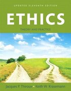 Ethics: Theory And Practice, Books A La Carte