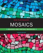Mosaics: Reading And Writing Sentences Plus Mywritinglab With Etext -- Access Card Package