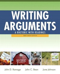Writing Arguments: A Rhetoric With Readings, Brief Edition Plus Mywritinglab With Pearson Etext…