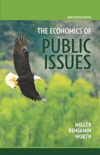 Book Economics Of Public Issues by Roger Leroy Miller