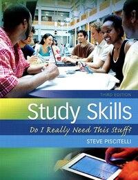 Study Skills: Do I Really Need This Stuff? Plus New Mystudentsuccesslab Update -- Access Card…