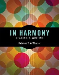 In Harmony: Reading And Writing Plus Myskillslab With Pearson Etext -- Access Card Package