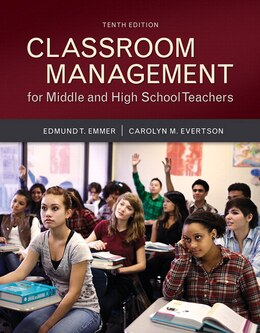 Book Classroom Management For Middle And High School Teachers With Myeducationlab With Enhanced Pearson… by Edmund T. Emmer