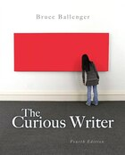 Curious Writer, The,  Plus Mywritinglab With Etext -- Access Card Package