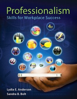 Book Professionalism: Skills For Workplace Success Plus New Mystudentsuccesslab -- Access Card Package by Lydia E. Anderson