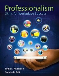 Professionalism: Skills For Workplace Success Plus New Mystudent Successlab With Pearson Etext…