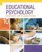 Educational Psychology: Windows On Classrooms, Enhanced Pearson Etext With Loose-leaf Version…