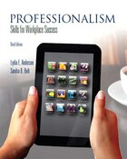 Professionalism: Skills For Workplace Success Plus New Mystudentsuccesslab With Pearson Etext…