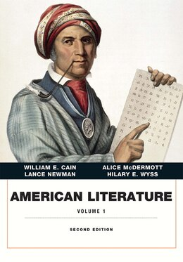 Book American Literature, Volume I by William E. Cain