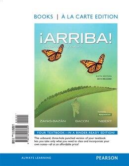 Book ¡arriba!: Comunicación Y Cultura, 2015 Release, Books A La Carte Edition by Eduardo J. Zayas-bazán