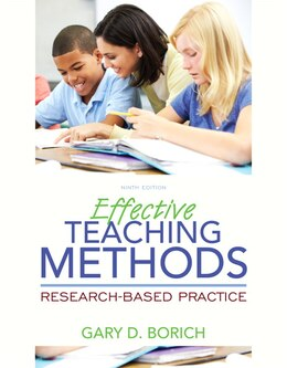 Book Effective Teaching Methods: Research-based Practice, Enhanced Pearson Etext With Loose-leaf Version… by Gary D. Borich