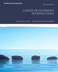 Career Development Interventions With Mycounselinglab With Pearson Etext -- Access Card Package