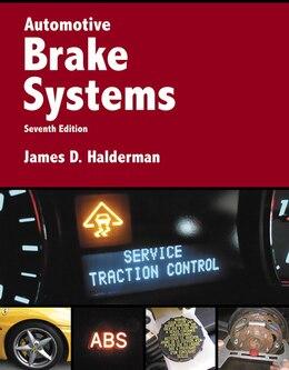 Book Automotive Brake Systems by James D. Halderman