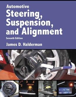 Book Automotive Steering, Suspension & Alignment by James D. Halderman