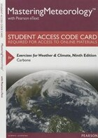 Masteringmeteorology With Pearson Etext -- Standalone Access Card -- For Exercises For Weather…