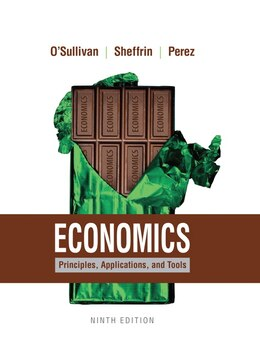 Book Economics: Principles, Applications, And Tools by Arthur O'sullivan