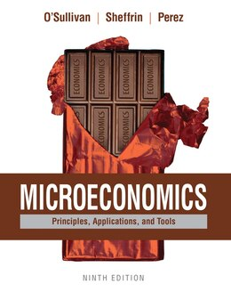 Book Microeconomics: Principles, Applications, And Tools by Arthur O'sullivan