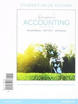 Book Horngren's Accounting, Student Value Edition Plus Myaccountinglab With Pearson Etext -- Access Card… by Tracie L. Miller-nobles