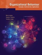 Organizational Behaviour: Concepts, Controversies, Applications, Seventh Canadian Edition Plus New…