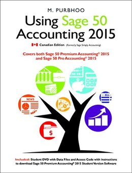 Book Using Sage 50 Accounting 2015 by Mary Purbhoo