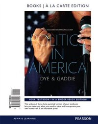 Politics In America, 2014 Elections Update, Books A La Carte Edition Plus New Mypoliscilab For…