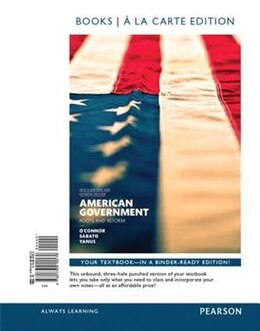 Book American Government, 2014 Elections And Updates Edition, Books A La Carte Edition Plus New… by Karen J. O'Connor