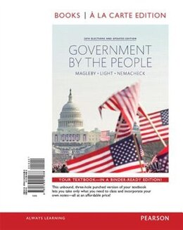 Book Government By The People, 2014 Elections And Updates Edition, Books A La Carte Plus New… by David B. Magleby