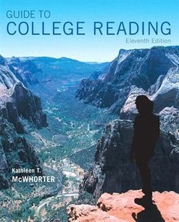 Book Guide To College Reading Plus Myreadinglab With Pearson Etext -- Access Card Package by Kathleen T. Mcwhorter