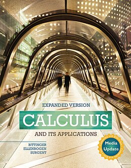 Book Calculus And Its Applications Expanded Version Media Update Plus Mymathlab -- Access Card Package by Marvin L. Bittinger