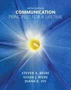 Communication: Principles For A Lifetime Plus New Mycommunicationlab For Communication -- Access…