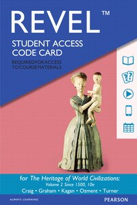 Revel For The Heritage Of World Civilizations, Volume 2 --  Access Card