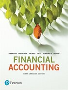 Financial Accounting, Sixth Canadian Edition