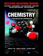 Selected Solutions Manual For Chemistry: A Molecular Approach, Second Canadian Edition