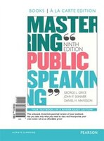 Mastering Public Speaking, Books A La Carte Edition Plus Revel -- Access Card Package