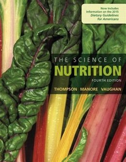 Book The Science Of Nutrition by Janice J. Thompson