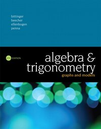 Algebra And Trigonometry: Graphs And Models
