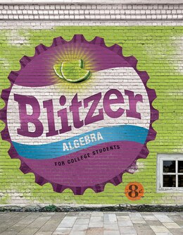 Book Algebra For College Students by Robert F Blitzer