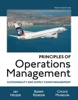 Book Principles Of Operations Management: Sustainability And Supply Chain Management by Jay Heizer