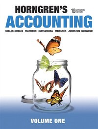 Horngren's Accounting, Volume 1, Tenth Canadian Edition Plus Myaccountinglab With Pearson Etext…