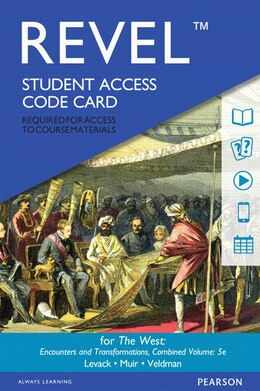 Book Revel For The West, Combined Volume --  Access Card by Brian Levack