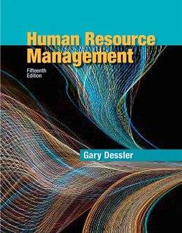 Book Human Resource Management by Gary Dessler